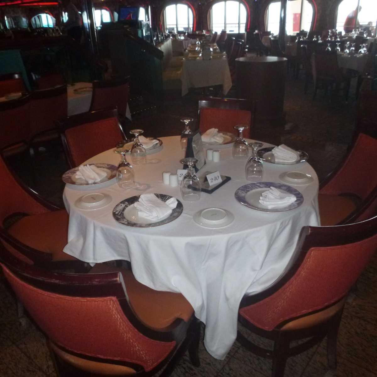 Carnival Conquest - Dining Hall